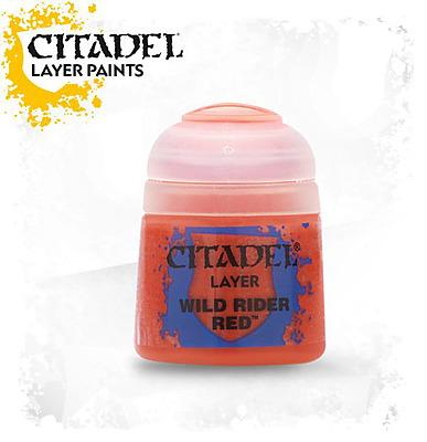 Einfach und sicher online bestellen: Citadel Layer: Wild Rider Red 12 ml in Österreich kaufen.