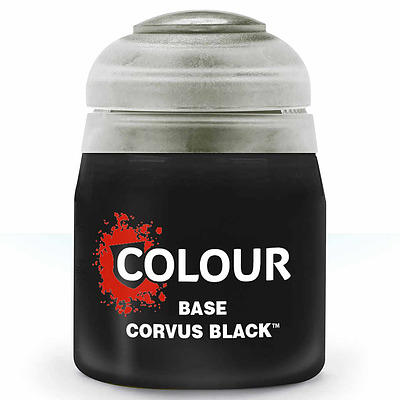 Einfach und sicher online bestellen: Citadel Base: Corvus Black 12 ml in Österreich kaufen.