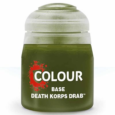 Einfach und sicher online bestellen: Citadel Base: Death Korps Drab 12 ml in Österreich kaufen.