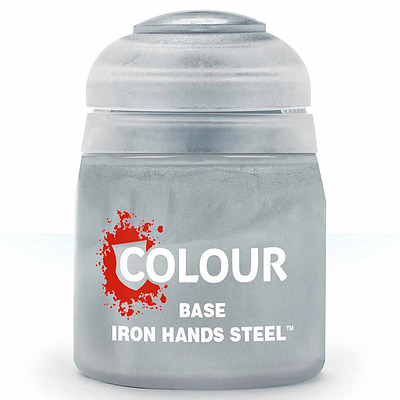 Einfach und sicher online bestellen: Citadel Base: Iron Hands Steel 12 ml in Österreich kaufen.