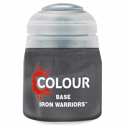 Einfach und sicher online bestellen: Citadel Base: Iron Warriors 12 ml in Österreich kaufen.