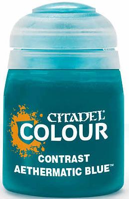 Einfach und sicher online bestellen: Citadel Contrast: Aethermatic Blue 18 ml in Österreich kaufen.