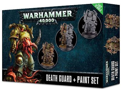 Einfach und sicher online bestellen: Death Guard Paint Set in Österreich kaufen.