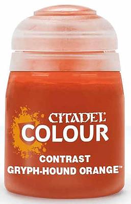 Einfach und sicher online bestellen: Citadel Contrast: Gryph-Hound Orange 18 ml in Österreich kaufen.