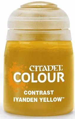 Einfach und sicher online bestellen: Citadel Contrast: Iyanden Yellow 18 ml in Österreich kaufen.
