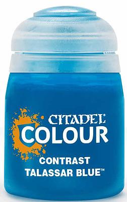 Einfach und sicher online bestellen: Citadel Contrast: Talassar Blue 18 ml in Österreich kaufen.