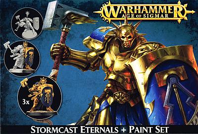 Einfach und sicher online bestellen: Citadel Stormcast Eternals + Paint Set in Österreich kaufen.