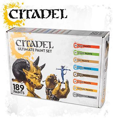 Einfach und sicher online bestellen: Citadel Ultimate Paint Set in Österreich kaufen.