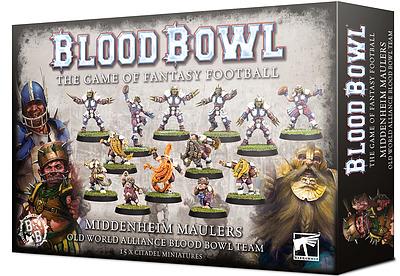 Einfach und sicher online bestellen: Blood Bowl Middenheim Maulers in Österreich kaufen.
