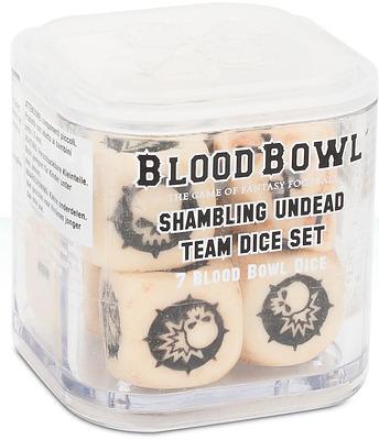 Einfach und sicher online bestellen: Blood Bowl Shambling Undead Dice in Österreich kaufen.