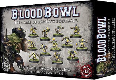 Einfach und sicher online bestellen: Blood Bowl Goblin Team Scarcrag Snivellers in Österreich kaufen.