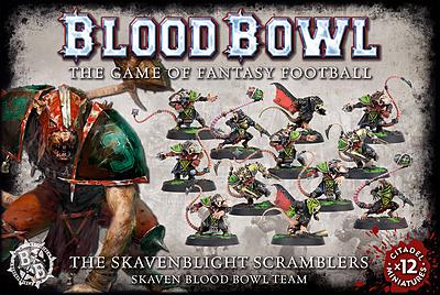 Einfach und sicher online bestellen: Blood Bowl Skaven Team Skavenblight Scramblers in Österreich kaufen.