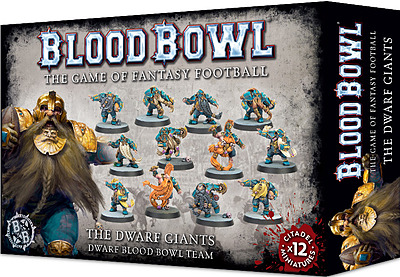 Einfach und sicher online bestellen: Blood Bowl Zwergen Team The Dwarf Giants in Österreich kaufen.