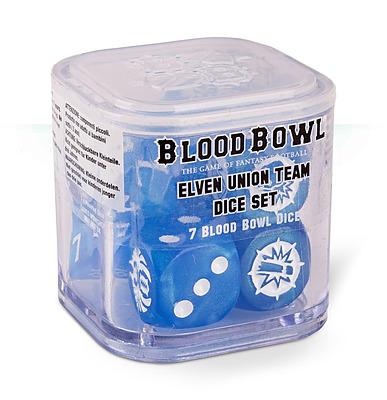 Einfach und sicher online bestellen: Blood Bowl Elven Union Dice Set in Österreich kaufen.