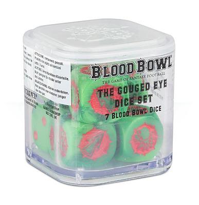 Einfach und sicher online bestellen: Blood Bowl Orc Dice Set in Österreich kaufen.