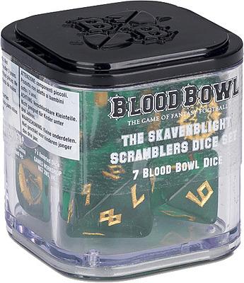 Einfach und sicher online bestellen: Blood Bowl Skaven Dice Set in Österreich kaufen.