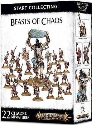 Einfach und sicher online bestellen: Starting Collection! Beasts of Chaos in Österreich kaufen.