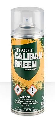 Einfach und sicher online bestellen: Citadel Sprühgrundierung: Caliban Green in Österreich kaufen.