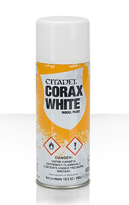 Einfach und sicher online bestellen: Citadel Sprühgrundierung: Corax White in Österreich kaufen.