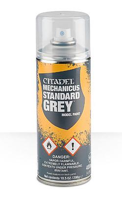Einfach und sicher online bestellen: Citadel Sprühgrundierung: Mechanicus Standard Grey in Österreich kaufen.