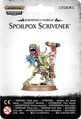 Einfach und sicher online bestellen: Chaos Dämonen Nurgle Spoilpox Scrivener in Österreich kaufen.