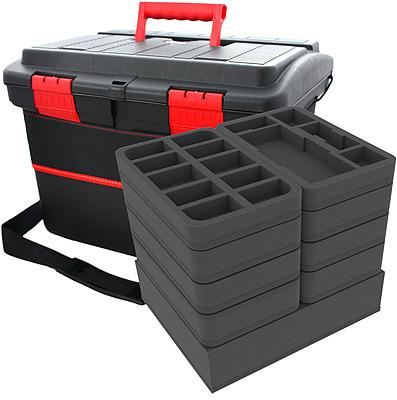 Einfach und sicher online bestellen: Feldherr X-Wing Koffer mit Schultergurt in Österreich kaufen.