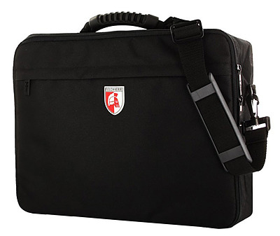 Einfach und sicher online bestellen: Feldherr Maxi Tasche Logo Leer in Österreich kaufen.