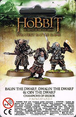 Einfach und sicher online bestellen: Der Hobbit: Balin, Dwalin & Oin - Erebor Champions in Österreich kaufen.