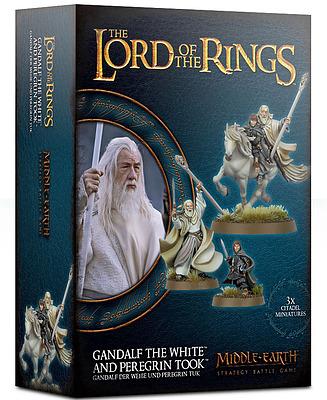 Einfach und sicher online bestellen: Der Hobbit: Gandalf der Weiße und Peregrin Tuk in Österreich kaufen.