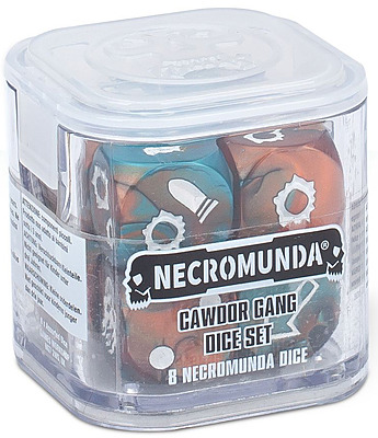 Einfach und sicher online bestellen: Necromunda: Cawdor Gang Dice Set in Österreich kaufen.