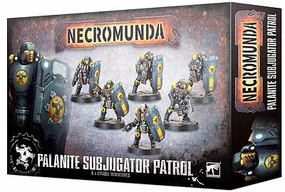 Einfach und sicher online bestellen: Necromunda: Palanite Subjugator Patrol in Österreich kaufen.