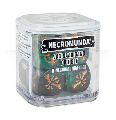 Einfach und sicher online bestellen: Necromunda: Van Saar Dice Set in Österreich kaufen.