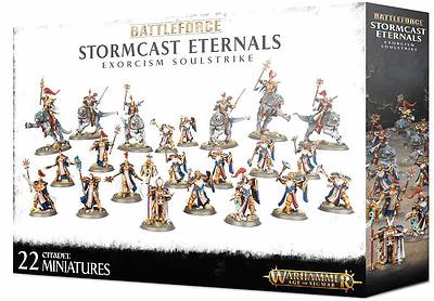 Einfach und sicher online bestellen: Stormcast Eternals Exorcism Soulstrike in Österreich kaufen.