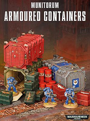 Einfach und sicher online bestellen: Warhammer 40.000: Munitorum Armoured Containers in Österreich kaufen.