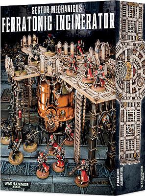 Einfach und sicher online bestellen: Warhammer 40.000: Ferratonic Incinerator in Österreich kaufen.