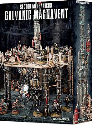 Einfach und sicher online bestellen: Warhammer 40.000: Galvanic Magnavent in Österreich kaufen.
