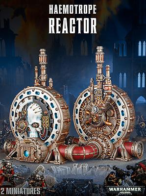 Einfach und sicher online bestellen: Warhammer 40.000: Haemotrope Reactor in Österreich kaufen.