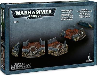 Einfach und sicher online bestellen: Warhammer 40.000: Imperiale Verteidigungslinie in Österreich kaufen.