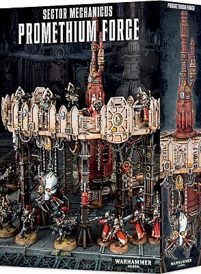 Einfach und sicher online bestellen: Warhammer 40.000: Promethium Forge in Österreich kaufen.