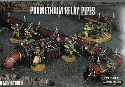 Einfach und sicher online bestellen: Warhammer 40.000: Promethium Relay Pipes in Österreich kaufen.