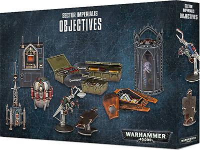 Einfach und sicher online bestellen: Warhammer 40.000: Sector Imperialis Objectives in Österreich kaufen.