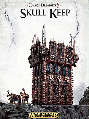 Einfach und sicher online bestellen: Warhammer: Chaos Dreadhold Skull Keep in Österreich kaufen.