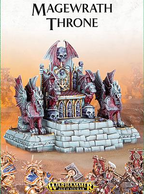 Einfach und sicher online bestellen: Warhammer Age of Sigmar: Magewrath Throne in Österreich kaufen.