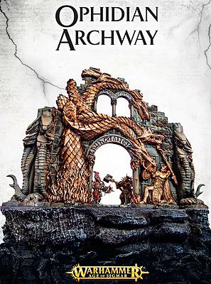 Einfach und sicher online bestellen: Warhammer Age of Sigmar: Ophidian Archway in Österreich kaufen.