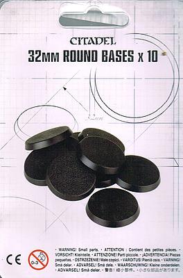 Einfach und sicher online bestellen: Games Workshop 32mm Runde Bases in Österreich kaufen.