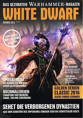 Einfach und sicher online bestellen: White Dwarf Oktober 2016 in Österreich kaufen.