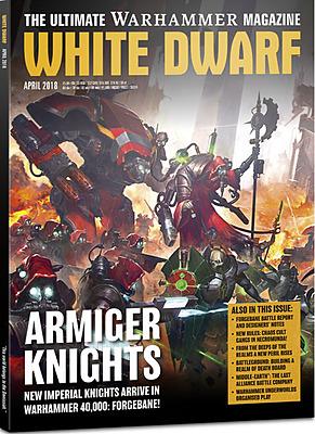 Einfach und sicher online bestellen: White Dwarf April 2018 in Österreich kaufen.