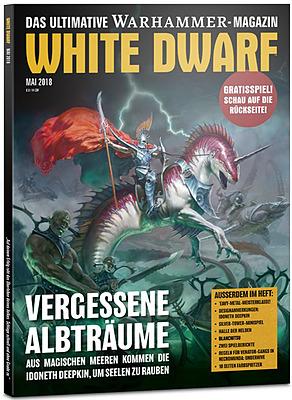 Einfach und sicher online bestellen: White Dwarf Mai 2018 in Österreich kaufen.