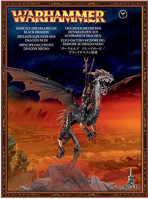 Einfach und sicher online bestellen: Dark Elf Dreadloard on Black Dragon in Österreich kaufen.