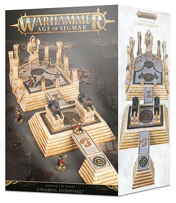 Einfach und sicher online bestellen: Dominion of Sigmar: The Enduring Stormvault in Österreich kaufen.